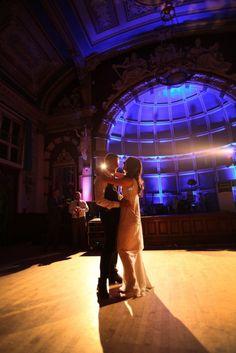 Old Finsbury Town Hall Wedding With Stunning Art Deco Anoushka G Dress: Matt & Lauren see more at http://www.wantthatwedding.co.uk/2015/04/23/old-finsbury-town-hall-wedding-with-stunning-art-deco-anoushka-g-dress-matt-lauren/