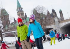 Winterlude ~ Your planning guide for this winter celebration held throughout February in Ottowa, Canada. It takes place on Rideau Canal Skateway and other sites across the Capital. Visit Canada, O Canada, Ottawa Tourism, Beautiful Places To Visit, Historical Sites, Places To Go, Road Trip, Take That, Ottowa Canada