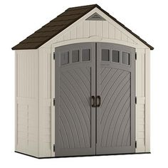 Storemate Vinyl Shed With Floor 8 Ft L X 6 Ft W Gt Gt Gt Click