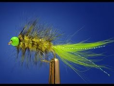 The Lemon Lime Bugger - Fly Fish Food -- Fly Tying and Fly Fishing