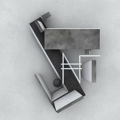 A showcase of MadMaxMac's creative work    Studie 03 | PROUN | El Lissitzky