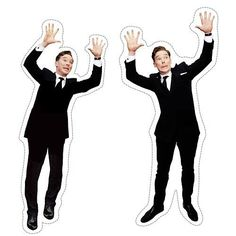 Photo bombing Benedict cut out. Let's start putting him in family photos!