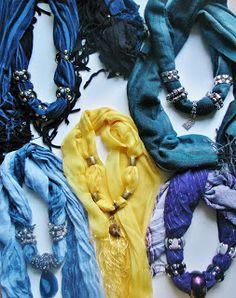 Pomysły plastyczne dla każdego DiY - Joanna Wajdenfeld: Chusty, apaszki i szaliczki w nowej odsłonie