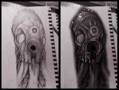 Arm Tattoo concept by Bihal Mryndal
