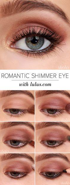 { romantic shimmer eye }