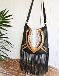 Free As A Bird Handbag with Fringe | Shop SWANK