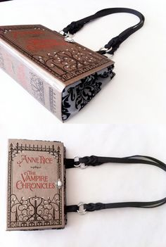 Anne Rice Book Purse...i want one
