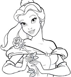 How to Draw Belle from Beauty and the Beast Step by Step Tutorial - How to Draw Step by Step Drawing Tutorials