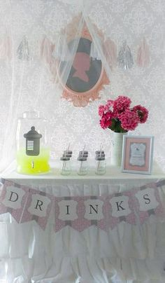 Hostess with the Mostess® - Vintage Princess Tutu Baby Shower!