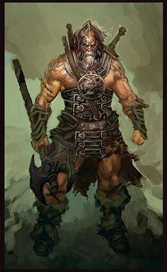 "*Othi ""Rock"" Madden, nord, barbarian, follower of the Thunder path."