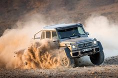 Mercedes is already making plans to build 20 or 30 G63 AMG 6X6s starting in October this year.