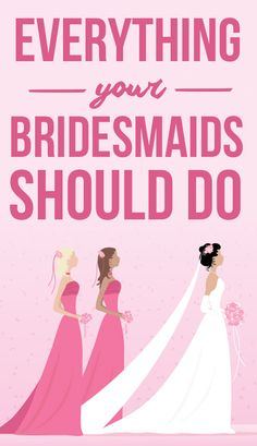 A lot of stress falls on the bride in wedding planning. Find out seven things that bridesmaids are responsible for on the big day, on SHEfinds.com