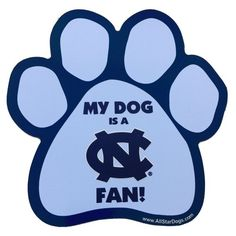 NCAA North Carolina Tar Heels Paw Print Car Magnet All Star Dogs,http://www.amazon.com/dp/B00DSXWIA6/ref=cm_sw_r_pi_dp_XRmFtb1RMF4PJZ7J