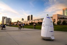 A new paper outlines the risks to transparency, fairness and human safety posed by the increasing prevalence of AI, robots and black-box algorithms. The not at all sinister Knightscope security robot. Paper Outline, Black Box, Robots, Cosmos, Loom, Technology, Artificial Intelligence, Outlines, Safety