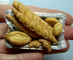Miniature Food Breads and Croissants #3 | Flickr - Photo Sharing!