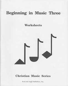 Grade 3 Music Workbook (Teacher's Guide inside)