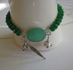 Glasperlenarmbänder - Glasperlenlarmband  Sihu - ein Designerstück von ADEOLA bei DaWanda