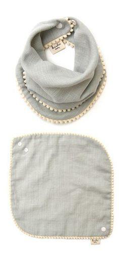 Amazon.com: baby kishu Mädchen Lätzchen 2-teilig Salbei und Lavendel Pom Pom Lätzchen Geschenkset für ... , #amazon #kishu #latzchen #lavendel #madchen #salbei #teilig - #2teilig #amazon #Amazoncom #baby #für #Geschenkset #kishu #Lätzchen #Lavendel #Mädchen #Pom #Salbei #teilig #und Sewing Tutorials, Sewing Diy, Sewing Projects, Baby Sewing, Sewing Hacks, Sewing Patterns, Sewing Crafts, Crochet Patterns, Baby Crafts