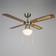 Deckenventilator Cool 52 Weiß Die #Hitzewelle Steht Vor Der #Tür, Behalten  Sie Mit Unserem #Multifunktions Ventilator #Cool Einen #kühlen #Kopf!