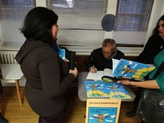 Lectura y presentación del libro Las aventuras de Pánfila la mosca abeja en el Instituto de Español de Montreal