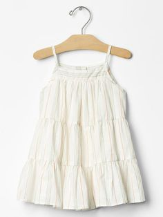 Stripe tiered dress Product Image