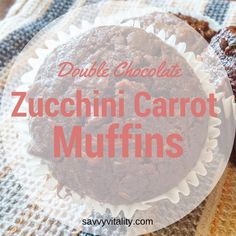 Truth moment, I have never made Zucchini muffins before…I know crazy right 😉  I have tried the loaves that others have made, while slightly curling my nose. I figure I have to be open to trying something new, for all the times I have made things that others have dutifully sampled, and I was surprised that it was actually good 😉
