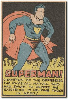"""One year before Chandler's The Big Sleep: Apr. 1, 1938, the """"Superman"""" comic strip debuts in newspapers."""