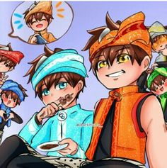 Galaxy Movie, Boboiboy Galaxy, Naruto Akatsuki Funny, Boboiboy Anime, I Wallpaper, Thunder, My Idol, Fangirl, Animation