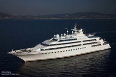 Superyacht 8 - Lady Moura. Owner : Nasser Al Rashid, Rashid Engineering. $210 million