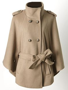 Breasted Alluring Band Collar Overcoats Only $35.95 USD More info...