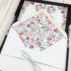 Luxury Floral Peony Writing Set, a perfect Christmas gift