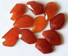 Red Onyx Fancy Cabochons Red Onyx Rose Cut by gemsforjewels