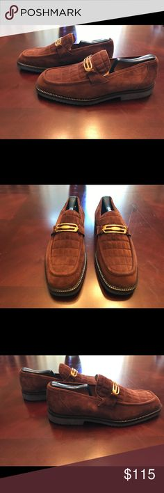 Selling this Brown Suede Mezlan Loafers on Poshmark! My username is: jwin2174. #shopmycloset #poshmark #fashion #shopping #style #forsale #Mezlan #Other
