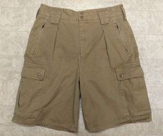 Sz 31 Tommy Hilfiger Cargo Shorts Cohiba Brown BUY FIVE+ GET FREE SHIPPING!! #TommyHilfiger #Cargo