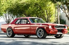 Vintage Muscle: 1966 Mustang Coupe