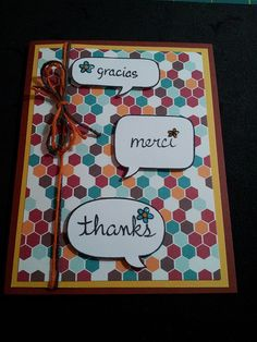 Lawn Fawn - A Birdie Told Me, Dewey Decimal paper, Lawn Trimmings twine and complimentary thank you stamps, sent with each retail order _ by MYCREATIVESOUL, via Flickr