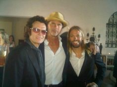 GH / Chad Smith / Taylor Hawkins @ a wedding in LA / Sat Oct 23 '10...