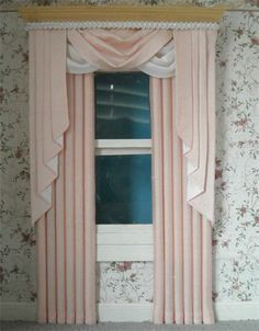 dollhouse curtains - Google Search