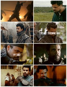 The Musketeers - Porthos, 'I'm not throwing away my shot.'