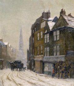 London Vanished & Vanishing 1905 Nell Gwynnes lodging Drury Lane Canvas Art - Philip Norman x London Drawing, Fine Art Prints, Framed Prints, Canvas Art, Canvas Prints, London Museums, London Art, Art Uk, Your Paintings
