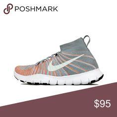 sale retailer ca969 2dfcc Nike Men s free train force flyknit gray sneakers