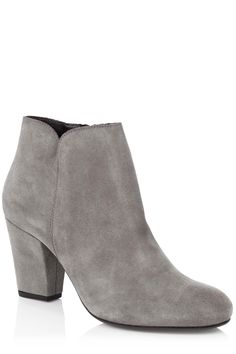 Sophie Suede Ankle Boot | Natural | Oasis Stores