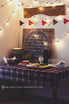 Rustic Baby Shower for Boy by Happy Together