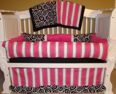 Custom Baby Bedding Crib Set by BabiesNBaubles on Etsy, $425.00 www.babiesnbaublesboutique.com www.etsy.com/shop/babiesnbaubles