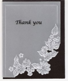 Daisy line..thank you card