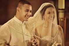 Filipino Wedding - maybe do the cord/veil ceremony to tie in some of my culture? Not religious though...