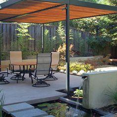 Modern Landscape Arbor Design, Pictures, Remodel, Decor and Ideas