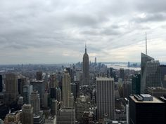 Top of The Rock - Blick auf das Empire State Building