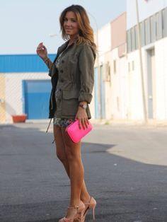RevEnMiBaul Outfit   Primavera 2012. Combinar Cardigan Verde oliva Zara Woman, Cómo vestirse y combinar según RevEnMiBaul el 7-7-2012