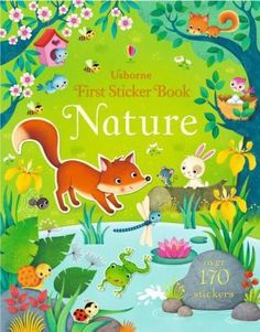 First Sticker Book - Nature Illustrator, Flora Und Fauna, Whole Earth, Learning To Write, Lectures, Child Love, Learn To Read, Book Activities, Activity Books